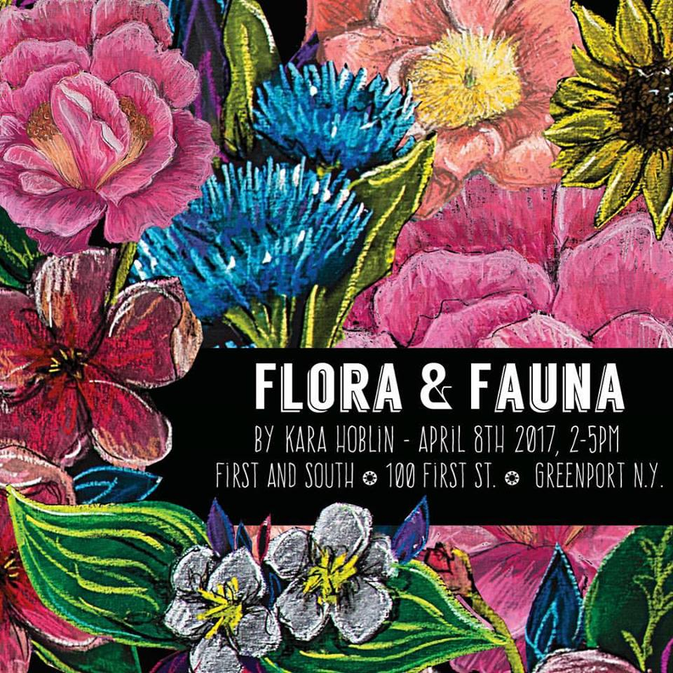 Artist Kara Hoblin Flora And Fauna Greenport Village