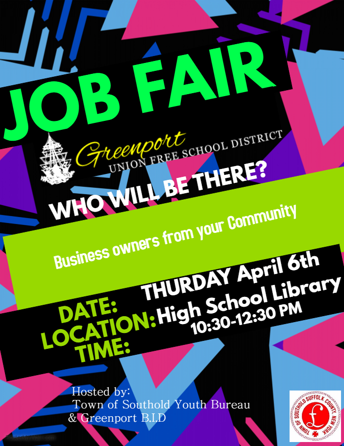 Copy Of Job Fair Flyer Template Greenport Village